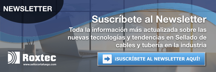 NEWSLETTER sellado para cables